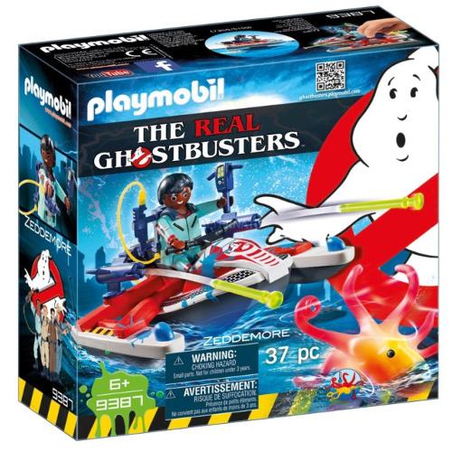 Set de Constructie Ghostbuster - Zeddemore si Jetski
