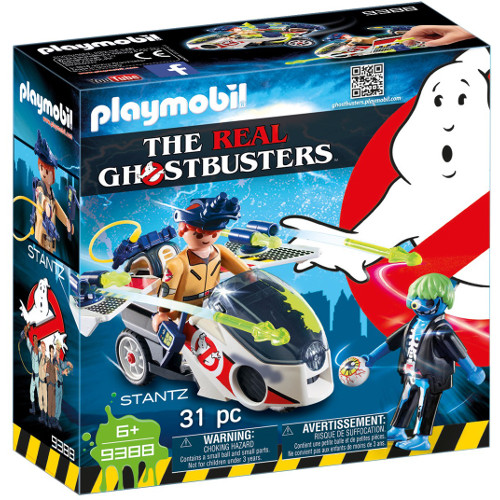 Set de Constructie Ghostbuster - Stantz si Motocicleta