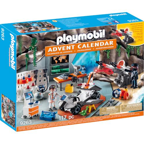Set de Constructie Calendar Craciun Agent Secret - Christmas