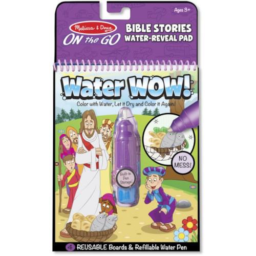 Carnet de Colorat Apa Magica cu Povesti din Biblie imagine