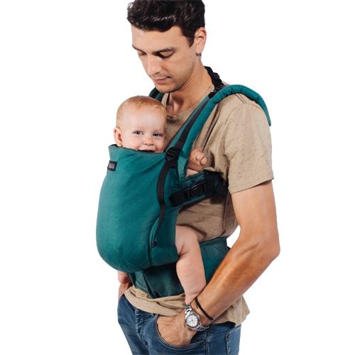 Marsupiu Toddler Organic Full Wrap Conversion The Trendsetter Green (R)Evolution