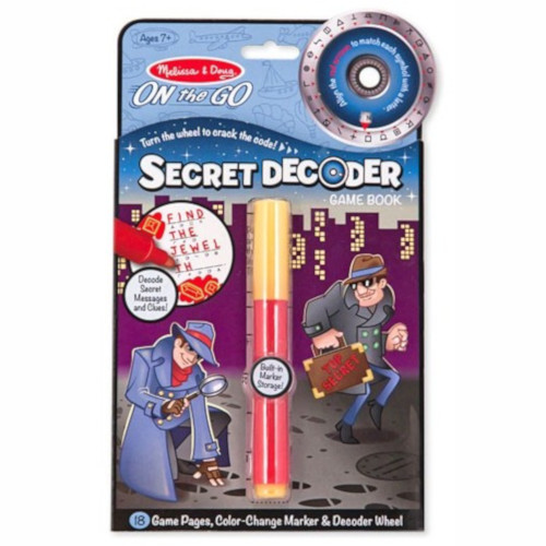 Melissa  Doug Joc Creativ Decodorul de Secrete