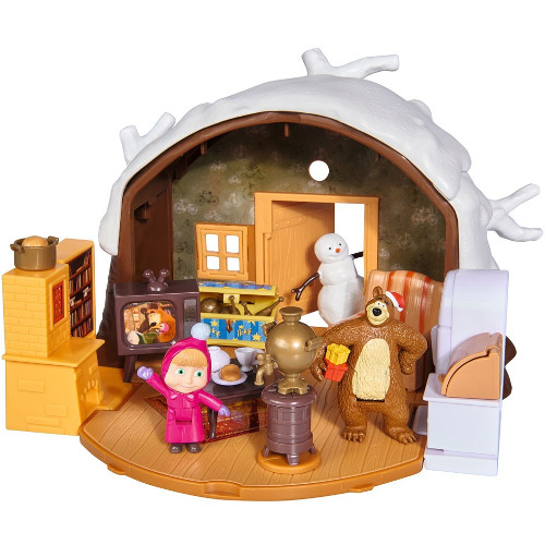 Set Masha si Ursuletul Winter Bear's House