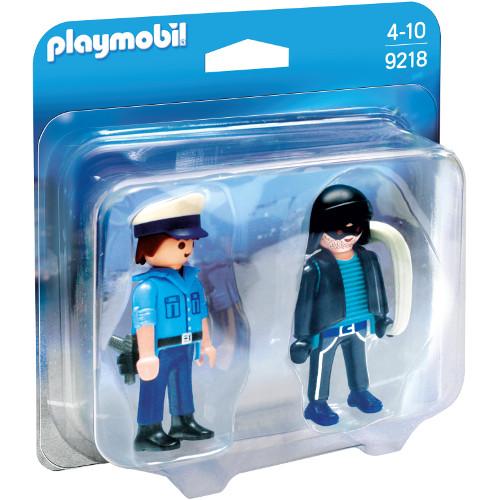 Set 2 Figurine Politist si Hot
