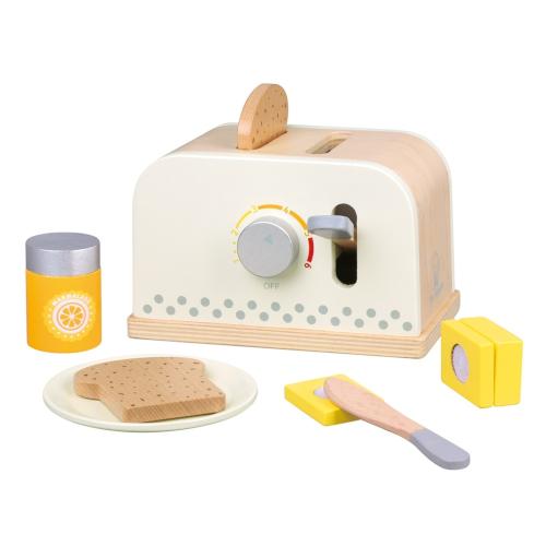 Set Toaster cu Felii de Paine si Unt