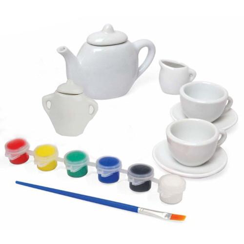 Jucarie Creativa Picteaza Setul de Ceai