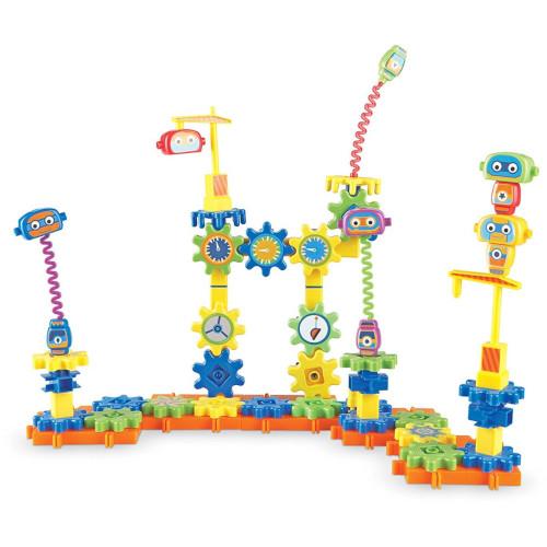 Learning Resources Set de Constructie Gears – Fabrica de Robotei