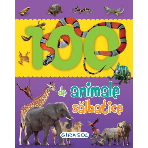 Carte Ilustrata 100 de Animale Salbatice