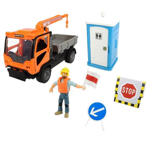 Camion Playlife M.T. Ladog Service Set cu Figurina si Accesorii