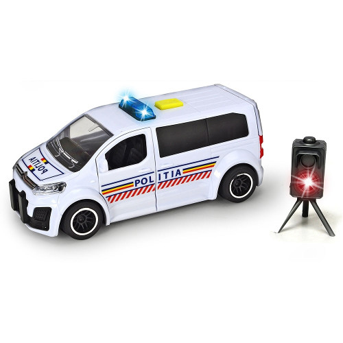 Poza Masina de Politie Citroen SpaceTourer cu Radar de Viteza