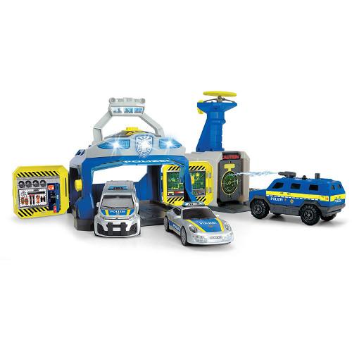Pista de Masini SWAT Station cu 3 Masini de Politie si Drona