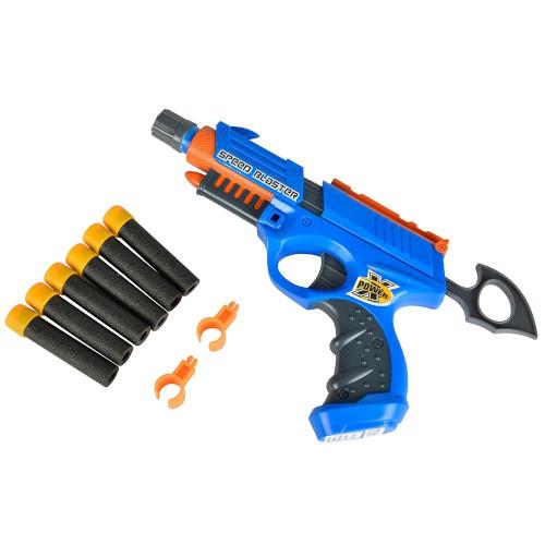 Jucarie Pistol X-Power Speed Blaster cu 6 Proiectile