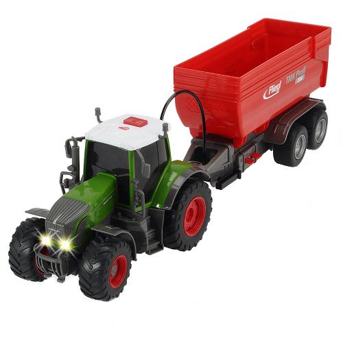 Tractor Fendt 939 Vario cu Remorca
