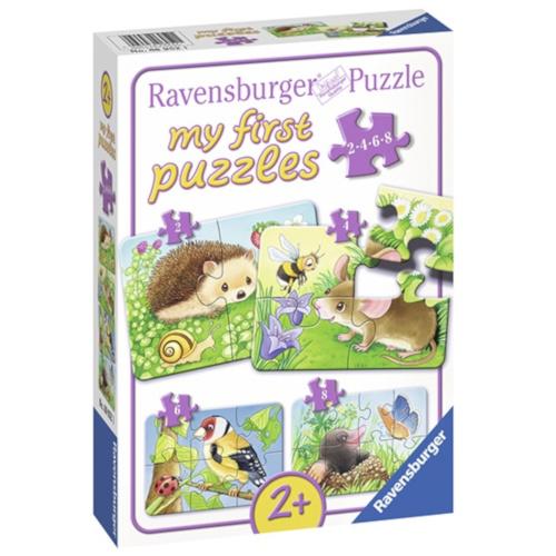 Primul Meu Puzzle Animale din Padure imagine