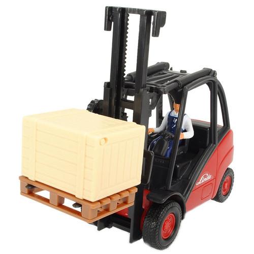 Jucarie Stivuitor Cargo Lifter cu Accesorii