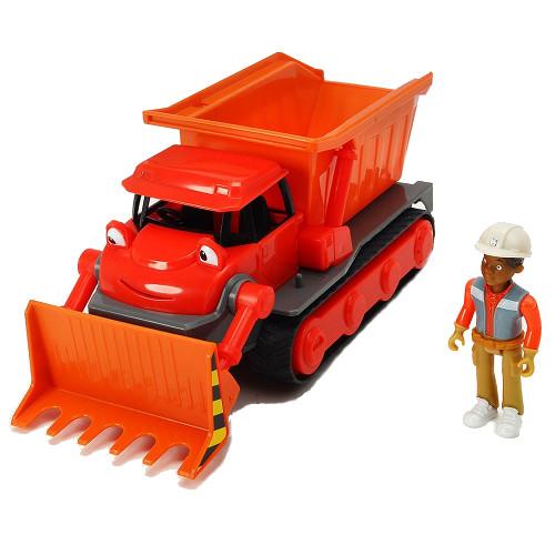 Buldozer Bob Constructorul Action Team Muck cu 1 Figurina Leo