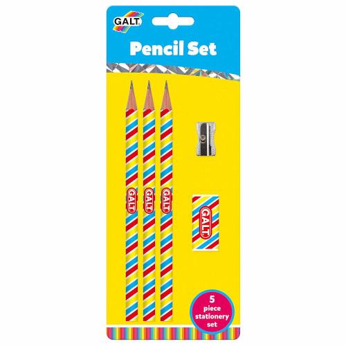 Set 3 Creioane cu Radiera si Ascutitoare thumbnail