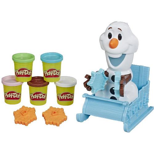 Set Play-Doh Olaf si Fulgii de Zapada