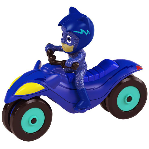 Motocicleta Eroi in Pijama Moon Rover cu Figuria Cat Boy