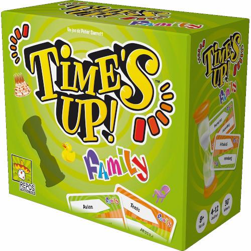 Joc de Societate Time's up! Family in Limba Romana