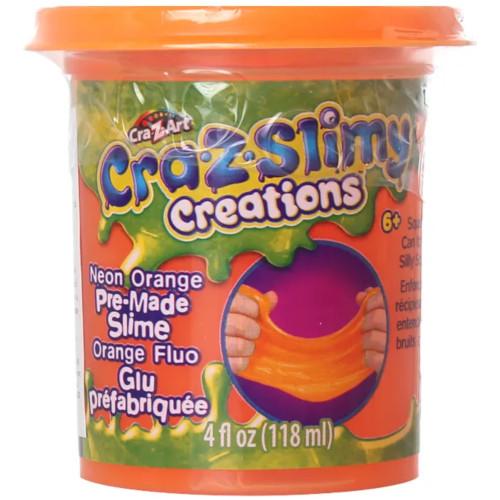 Borcanel cu Slime Neon Cra-Z-Slimy
