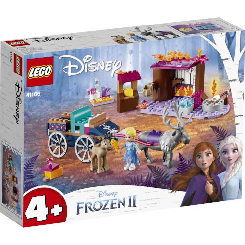 LEGO Disney Aventura Elsei cu Trasura 41166