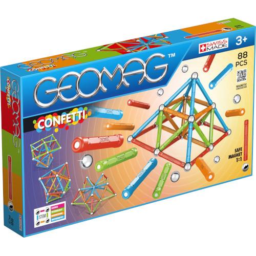 Set Constructie Magnetic Confetti 88