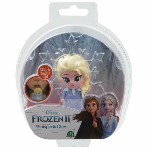 Minifigurina Elsa in Rochie Albastra Whisper and Glow Frozen 2