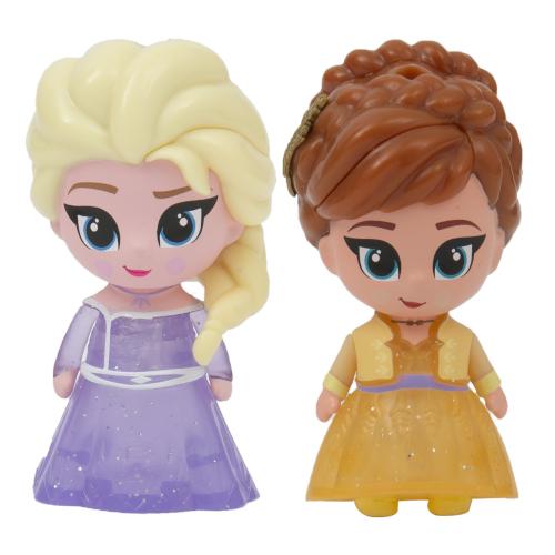 Set 2 Mini Figurine Elsa si Anna Whisper and Glow Frozen 2