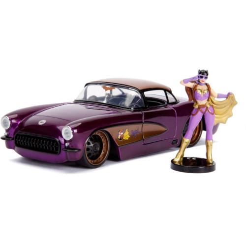 Masinuta DC Comics Bombshells 1957 Chevy 1:24 Batgirl