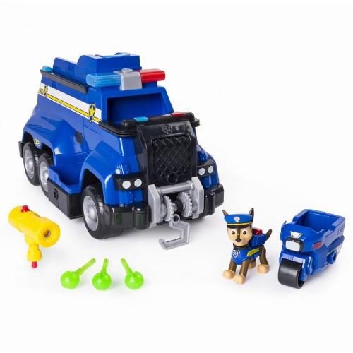 Set de Joaca Masina de Politie si Figurina Chase cu Functii, Patrula Catelusilor