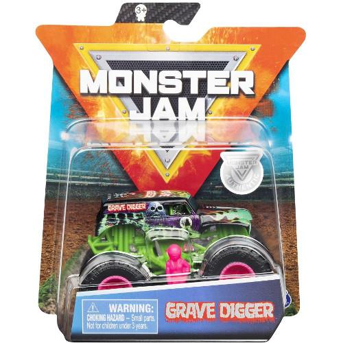 Masinuta Metalica Monster Jam Grave Digger