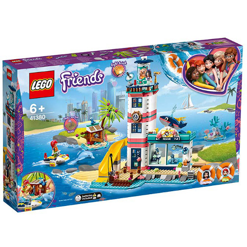 LEGO Friends Centrul de Salvare de la Far 41380 imagine