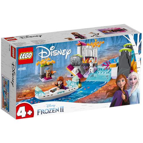 LEGO Disney Frozen Expeditia cu Canoe a Annei 41165