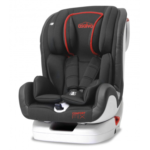 Asalvo Scaun Auto cu Isofix  Confort Fix Rosu 9 -36 kg