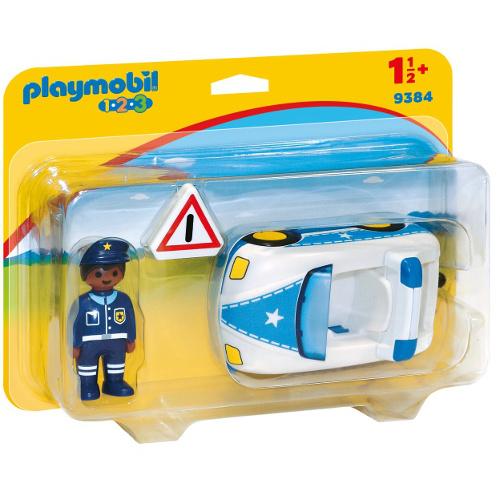 Figurina Masina de Politie - 1.2.3