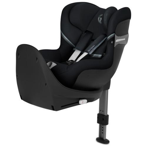 Scaun Auto Sirona S I-Size cu Rotire 360 de Grade 0-18 kg Deep Black