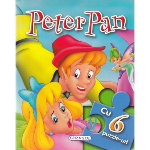 Carte cu 6 Puzzle Peter Pan imagine