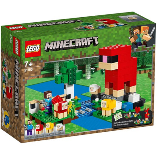 LEGO Minecraft Ferma cu Oi 21153