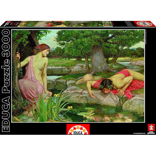Puzzle Echo and Narcissus 3000 Piese