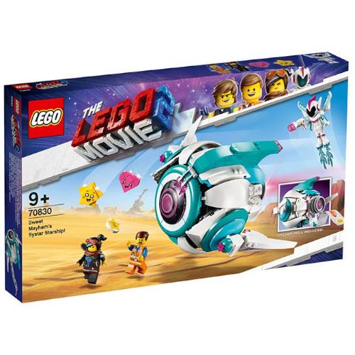 LEGO The Movie Nava Stelara Systar a lui Mayhem