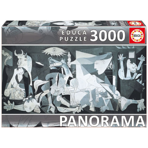Puzzle Panorama Pablo Picasso Guernica 3000 Piese