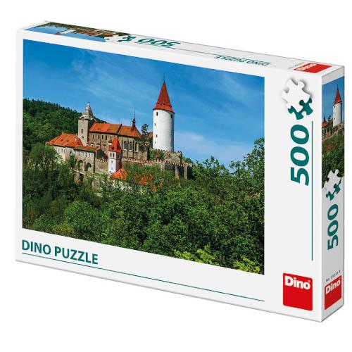 Puzzle Castelul Krivoklat 500