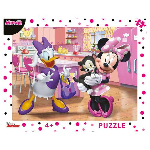 Puzzle cu Rama Minnie 40 Piese