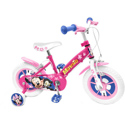 Stamp Bicicleta Minnie Mouse, 14 inch