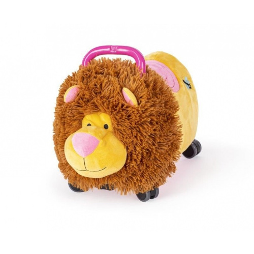Jucarie Ride-on Lion Pink imagine