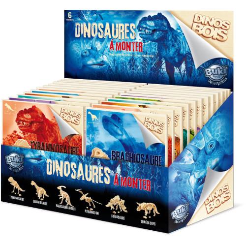 Dinozaur din Lemn - Diverse Modele
