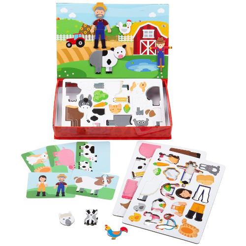 BigJigs Toys Joc Magnetic – Distractie in Livada