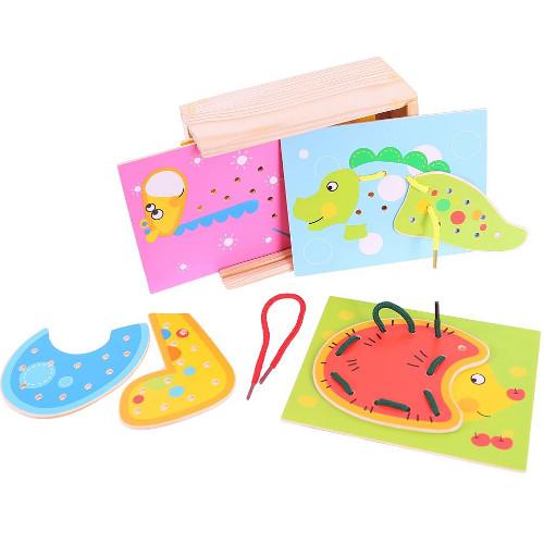 BigJigs Toys Joc de Snuruit – Animalute