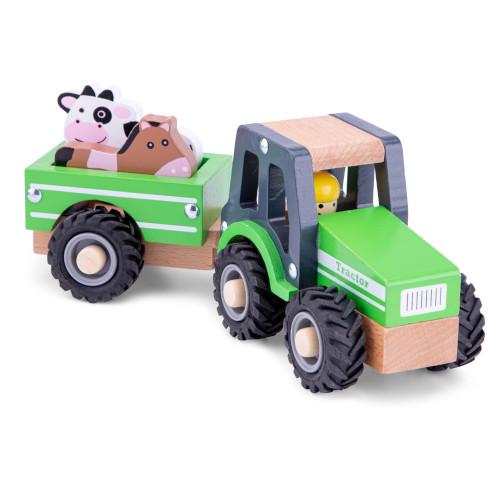 Tractoras cu Remorca si Animale